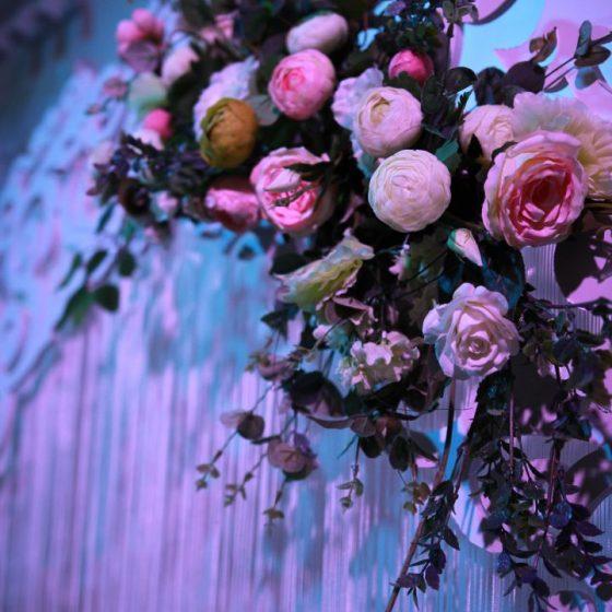 Украшение свадеб, залов