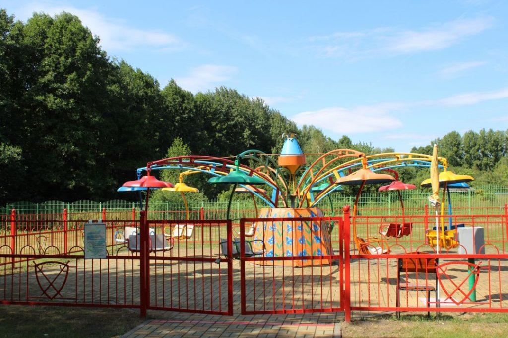 Аттракцион Колокольчик в парке на Востоке