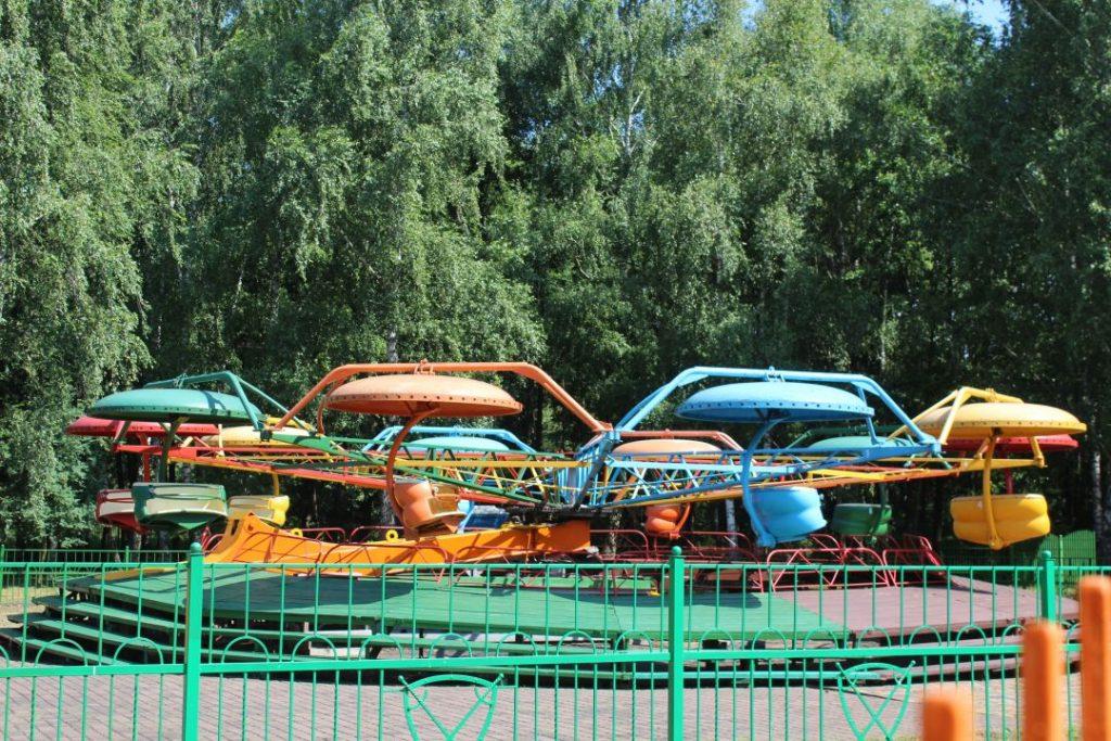 Аттракцион Орбита в парке на Востоке